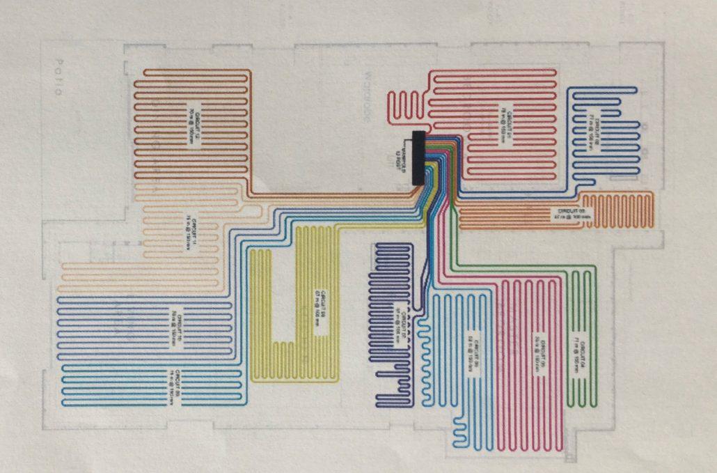Proiekt Underfloor Heating Loop